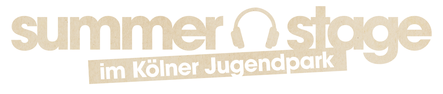 Summer Stage im Kölner Jugendpark Logo